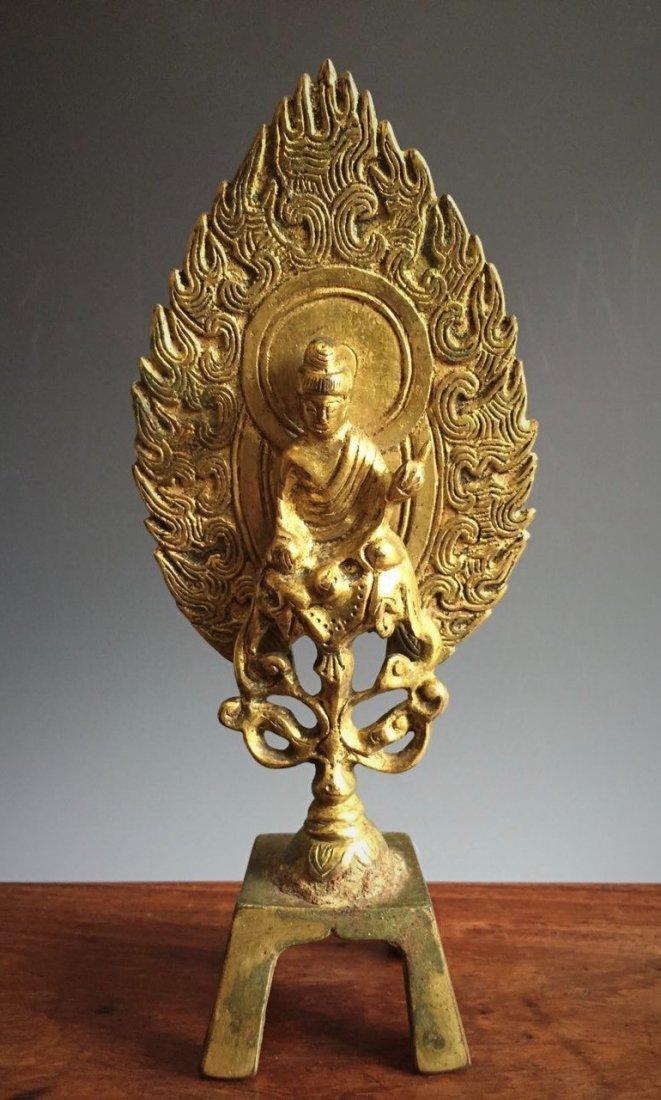Northern Wei Bronze Buddha,Christie's.