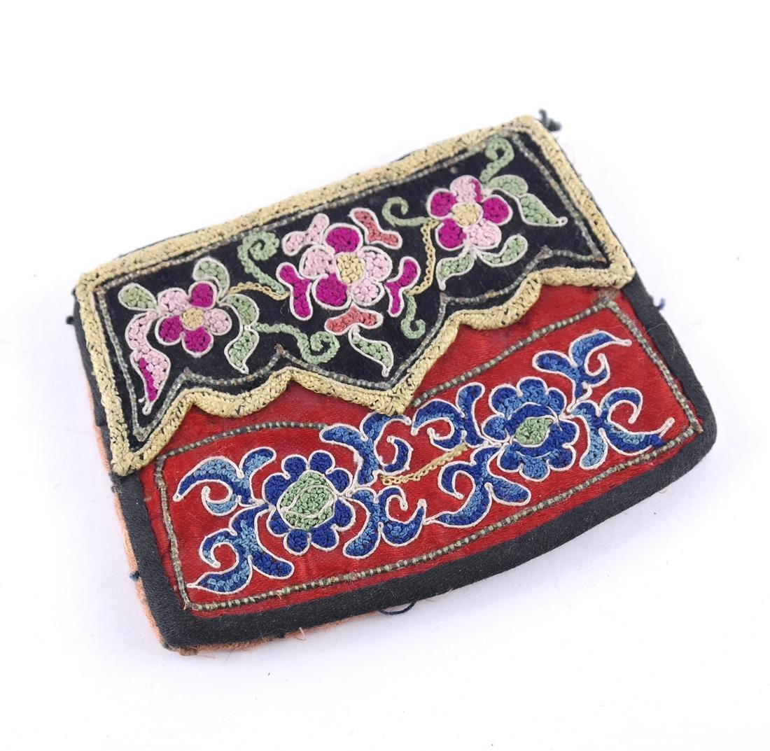 A Old Chinese Embroidered