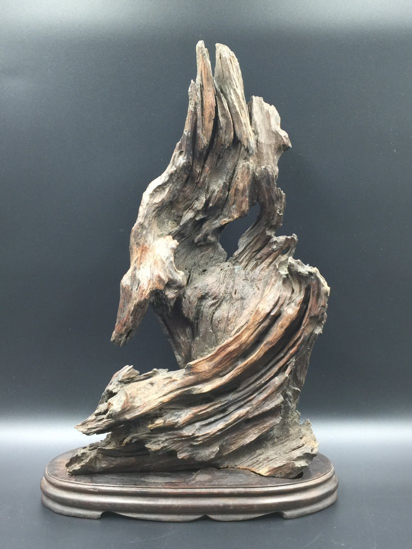 A Old Natural ChenXiang Wood With Base
