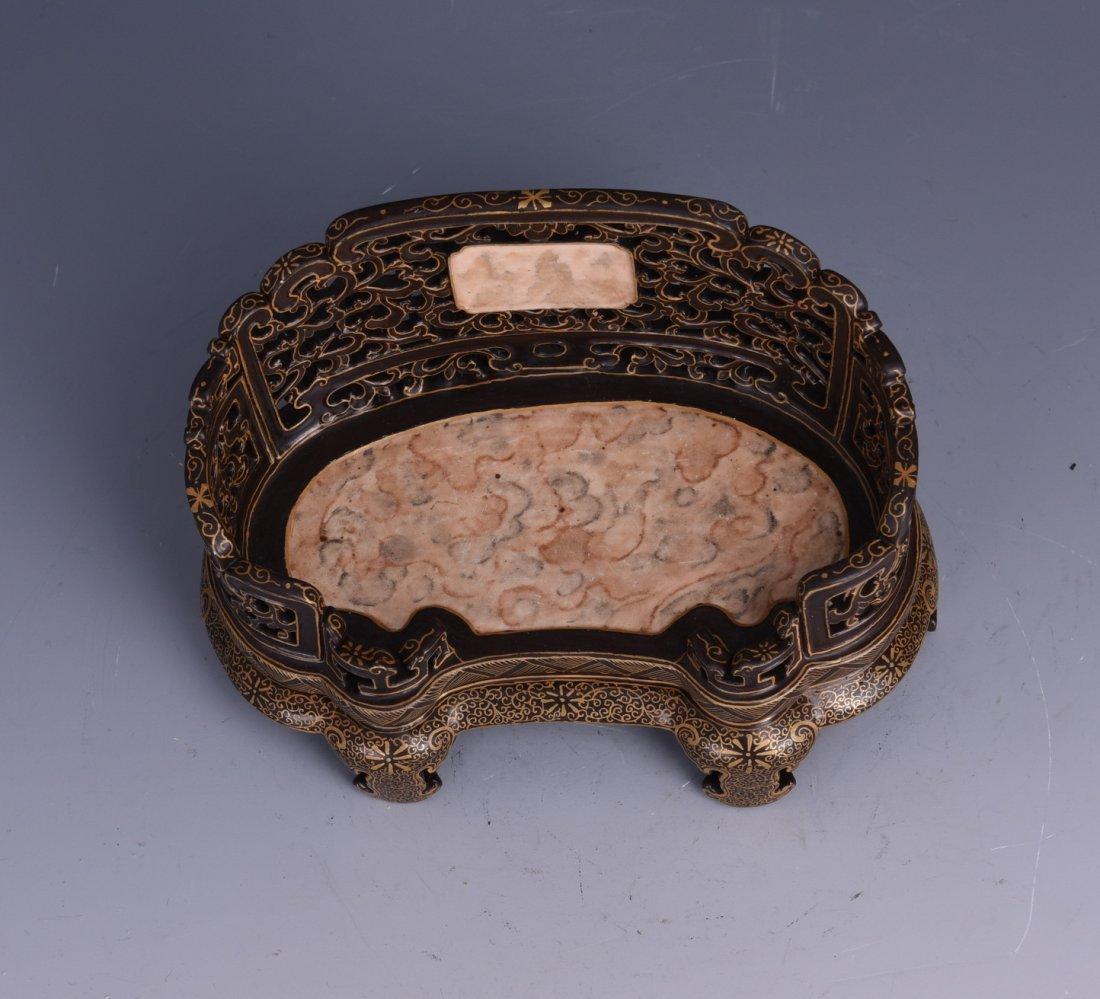 Chinese Tea Glaze Porcelain - 7