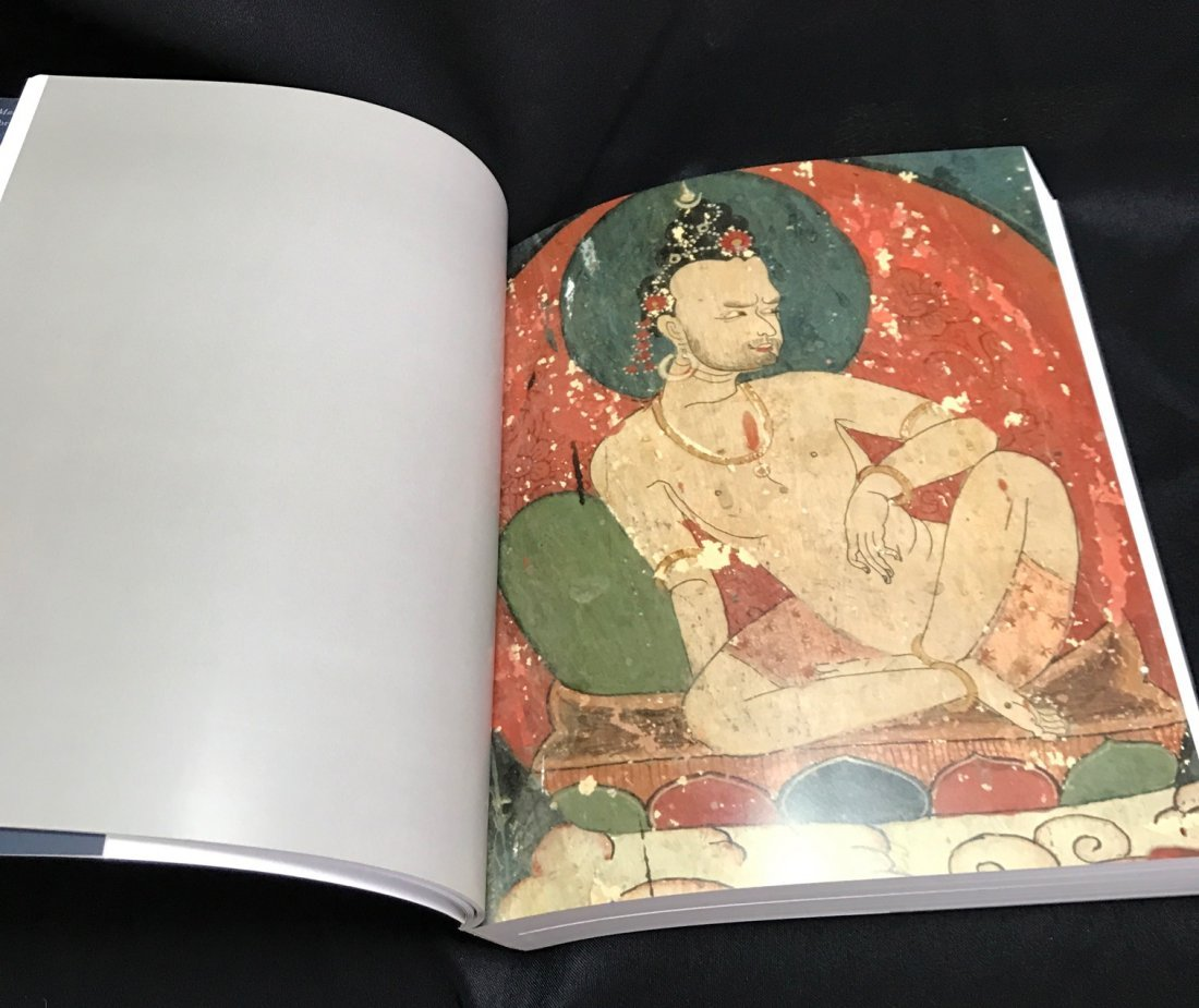 Soft Cover Book on Portraits of Tantric Saddhas - 5