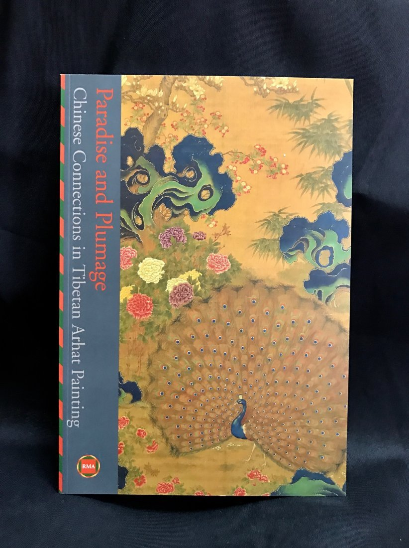 Soft Cover Book on Tibetan Arhat Paintings