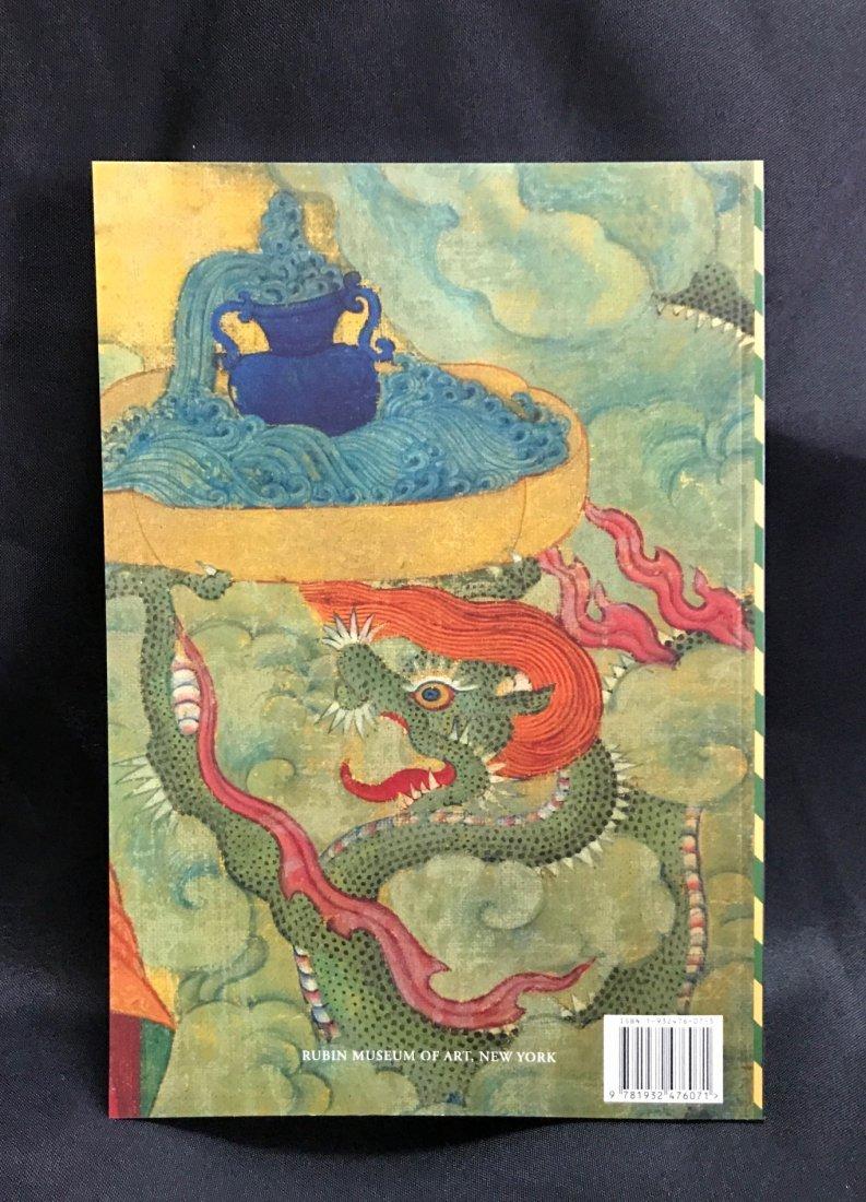 Soft Cover Book on Tibetan Arhat Paintings - 2