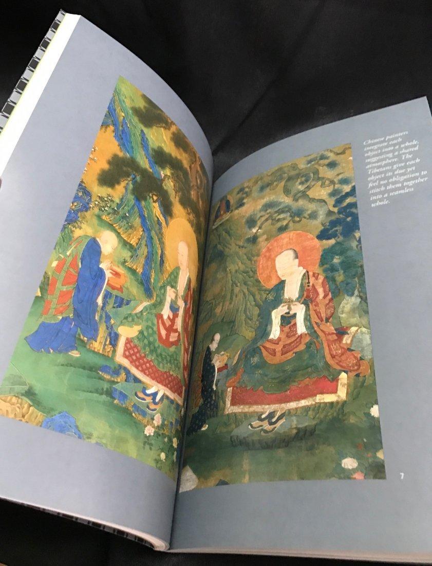 Soft Cover Book on Tibetan Arhat Paintings - 3