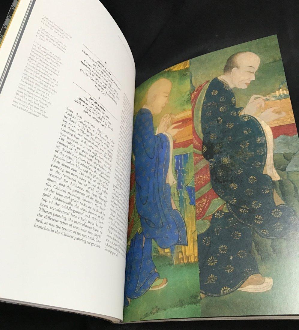 Soft Cover Book on Tibetan Arhat Paintings - 4