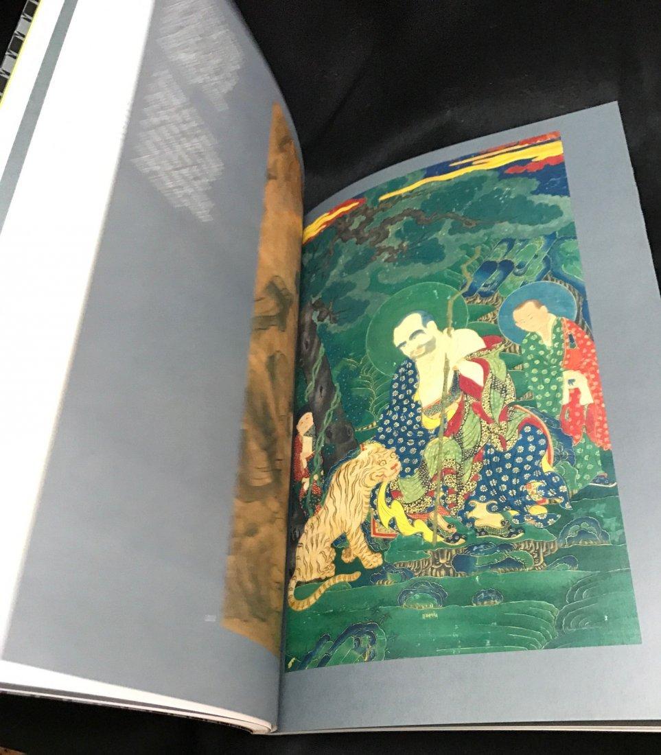 Soft Cover Book on Tibetan Arhat Paintings - 5