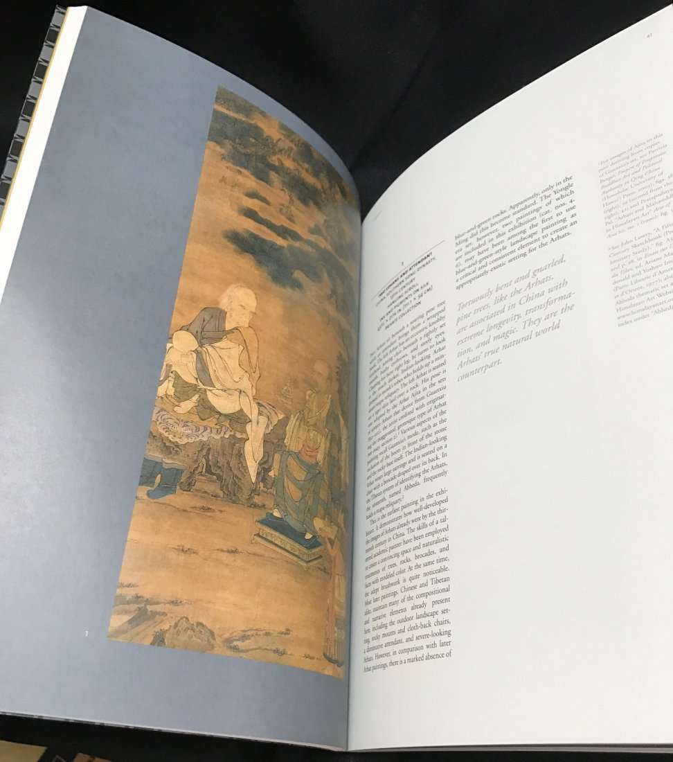 Soft Cover Book on Tibetan Arhat Paintings - 6