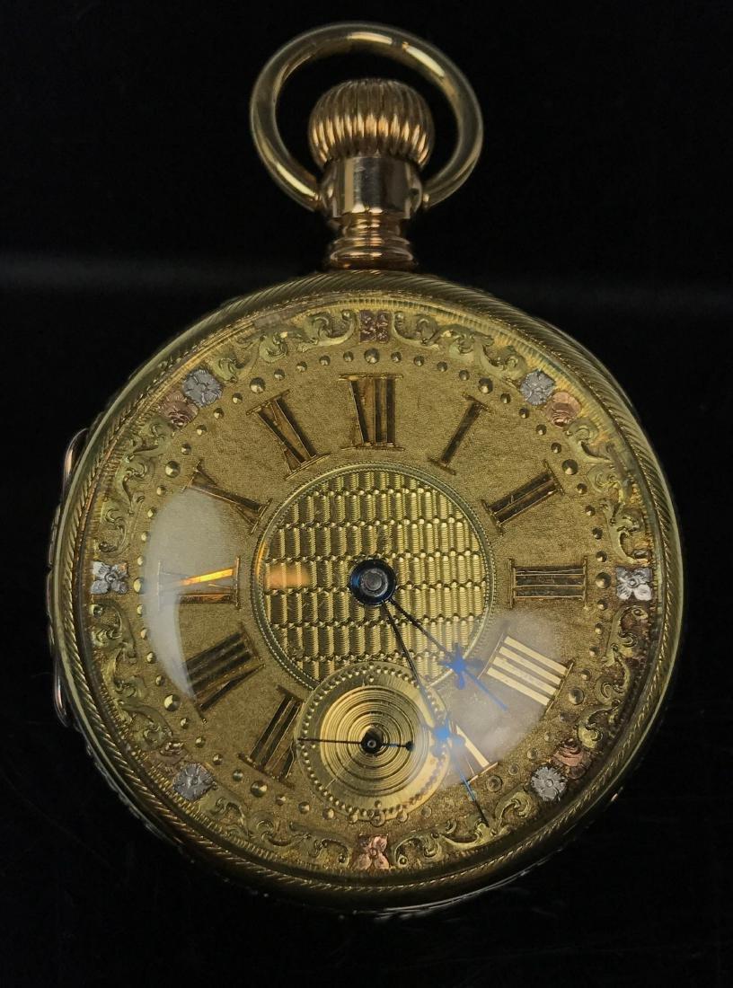 P.S. Bartlett 18K Pocket Watch