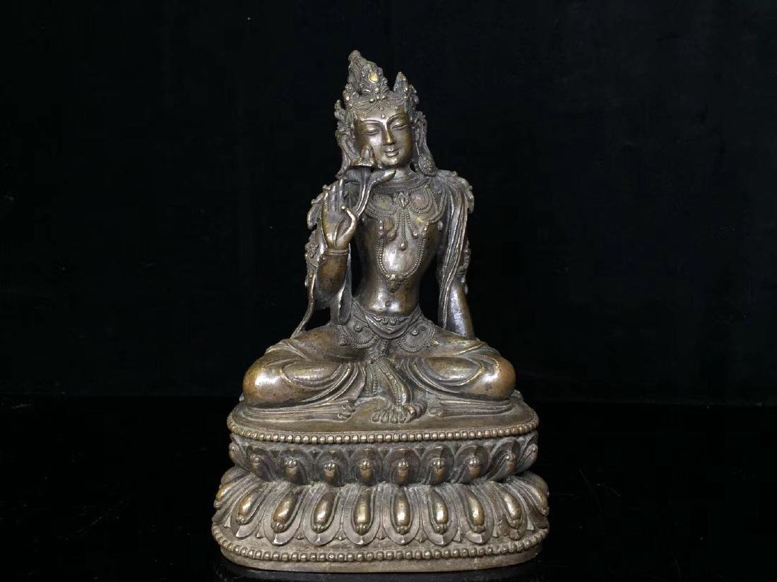 Bronze Figure of Tara
