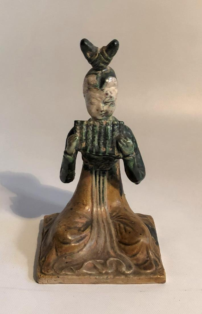 Tang Sancai glazed Porcelain Figure