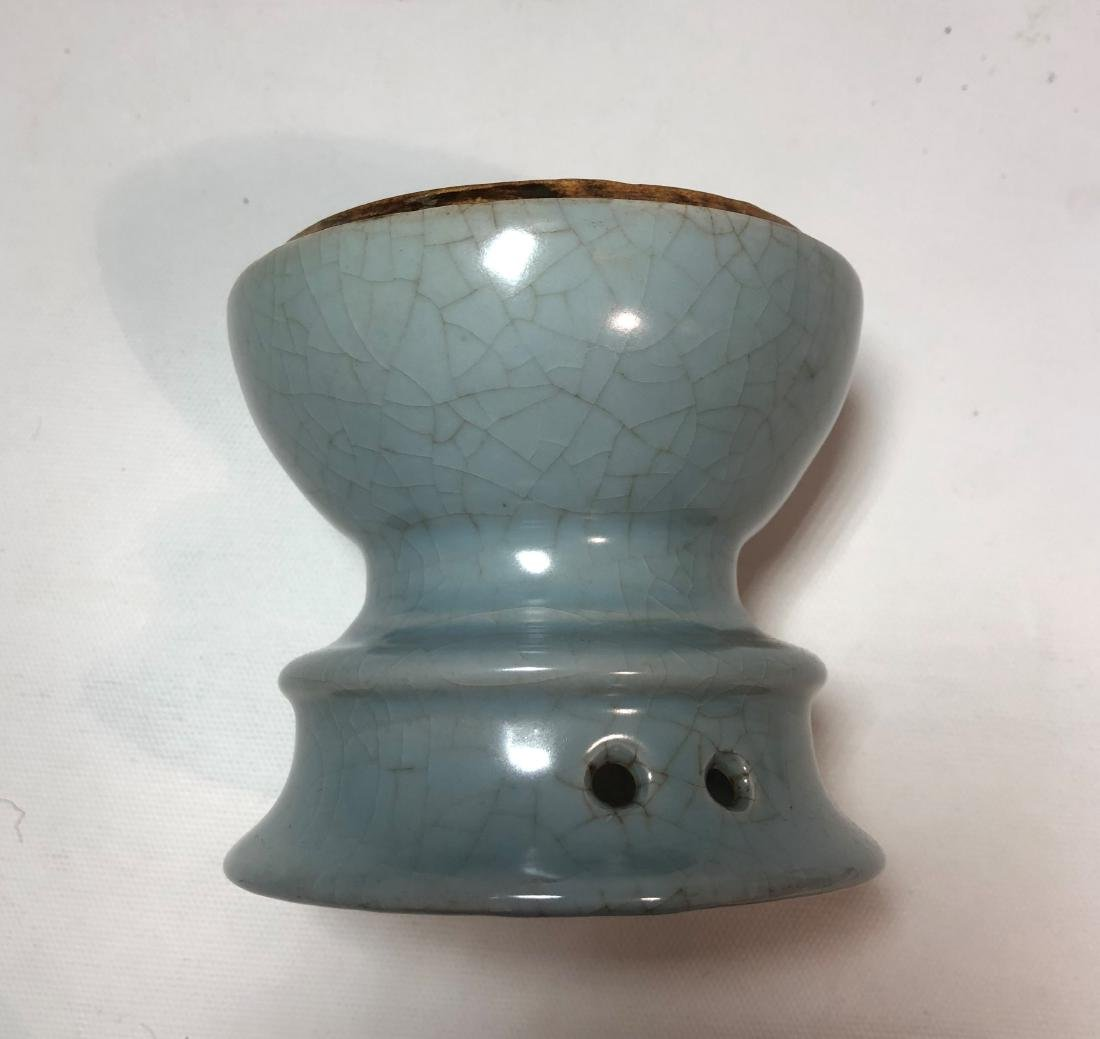 Guan Yao Type Porcelain Bowl with Mark