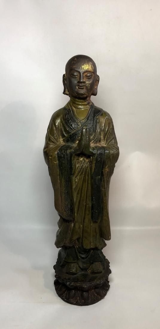 Iron Figure of Buddha
