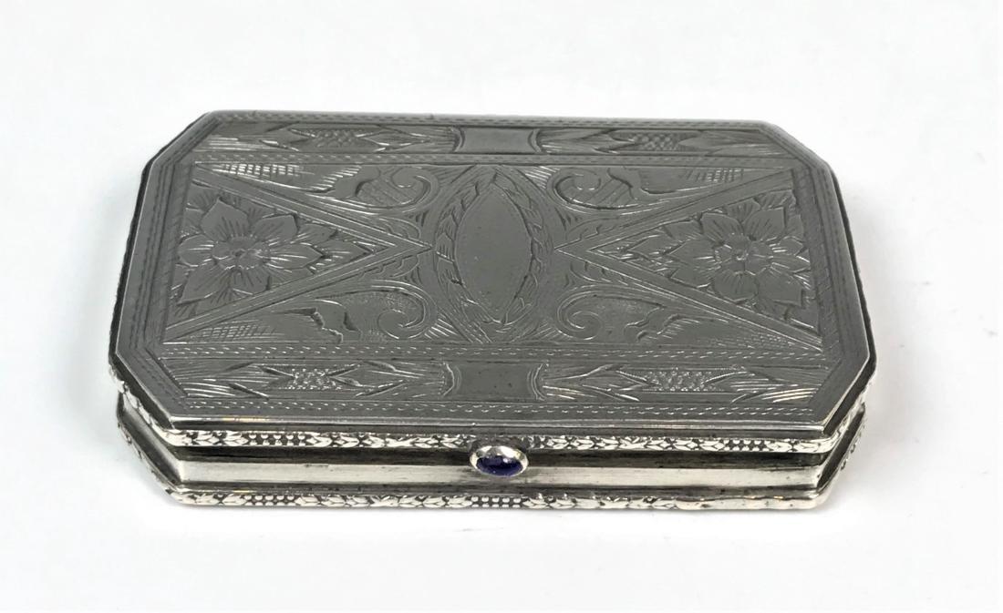 Ornate Silver Box