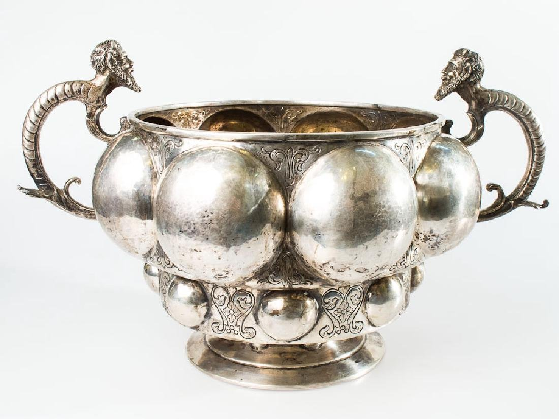 Large German Tureen, Hanau Silver