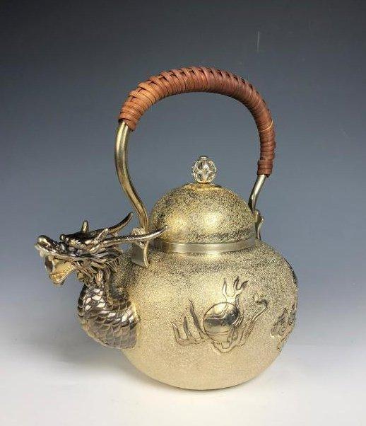 Japanese Dragon Head Tea Pot