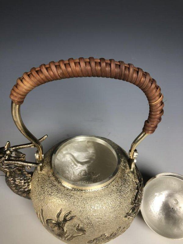 Japanese Dragon Head Tea Pot - 8