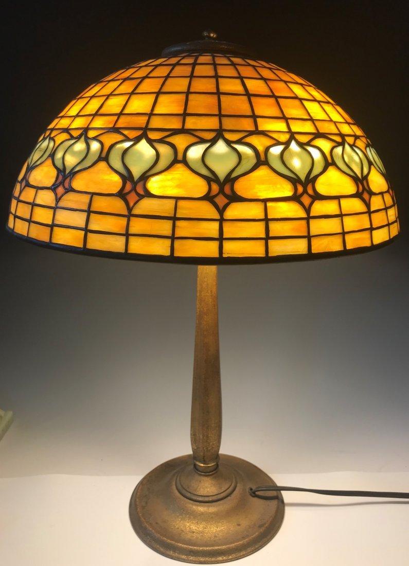 Tiffany Pomegranate Table Lamp - 2