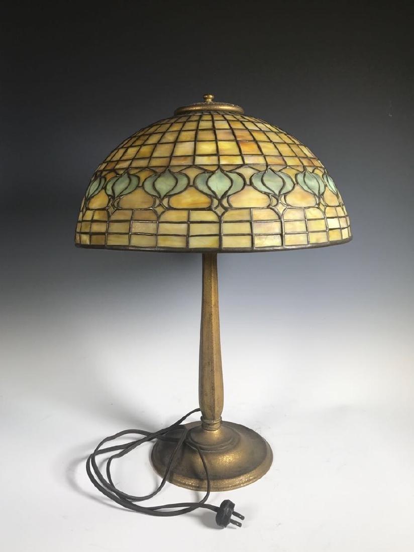 Tiffany Pomegranate Table Lamp - 9
