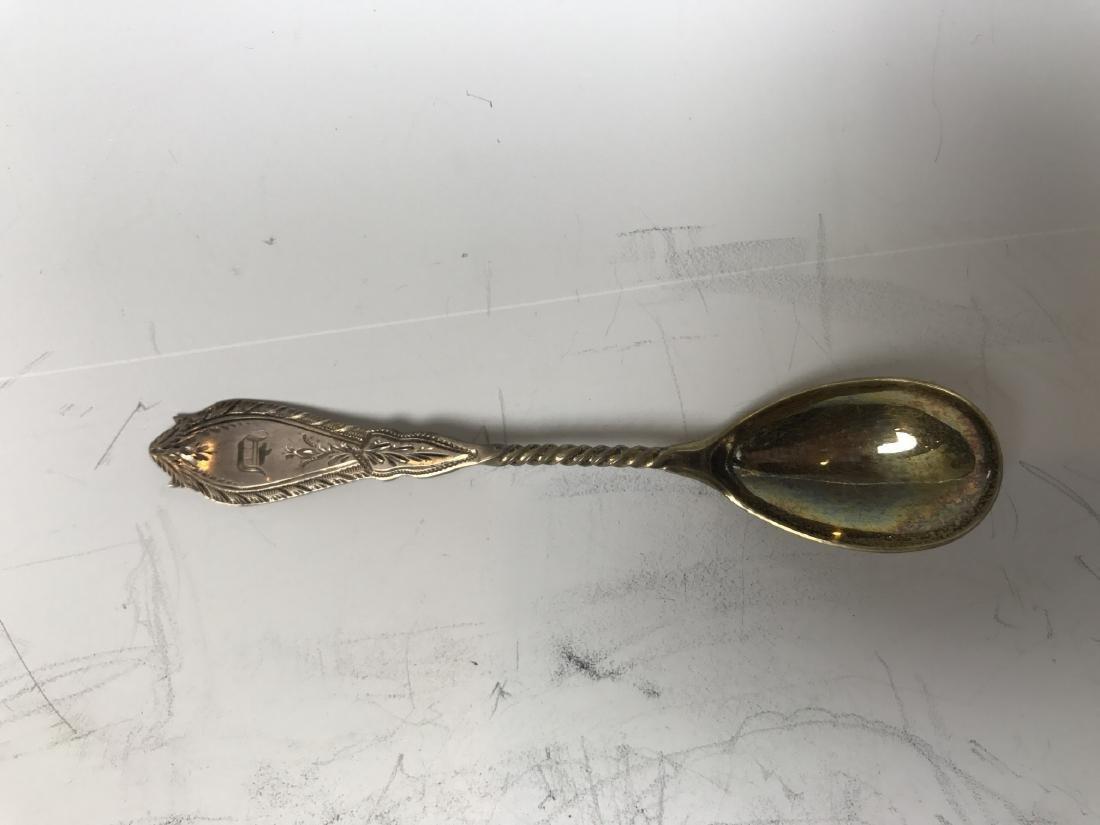 Russian Silver Spoon Set - 16