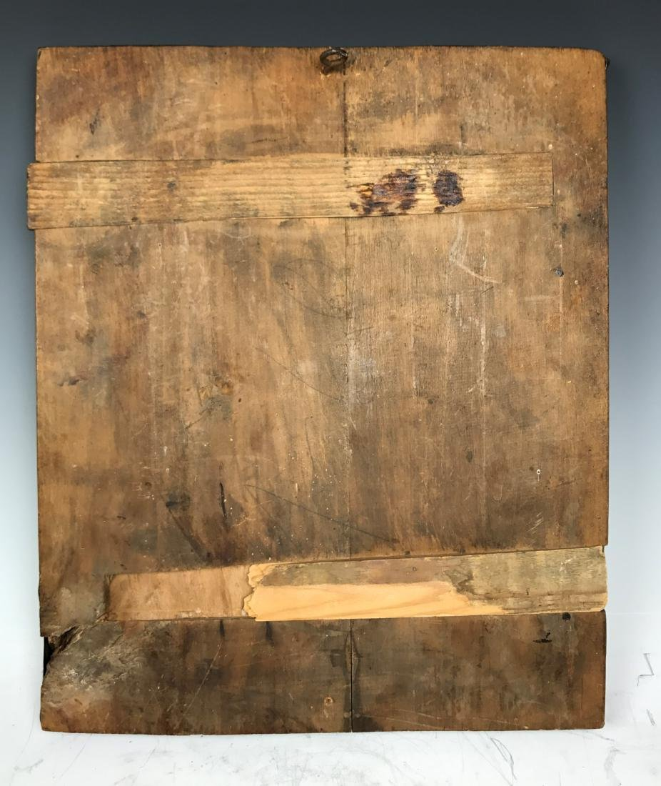 Russian Icon Panels In Metal Over Wood - 9