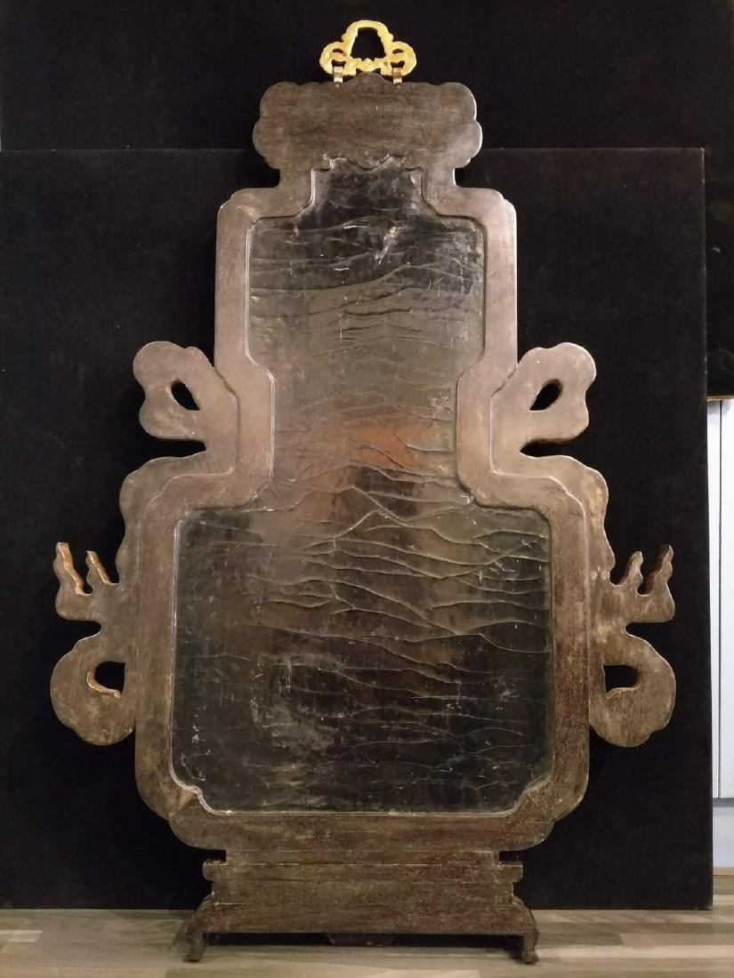 Hard wood frame with Stone Inlay Panel - 10