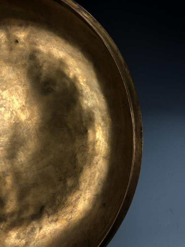 Finely Detailed Gilt Bronze Circular Box - 10