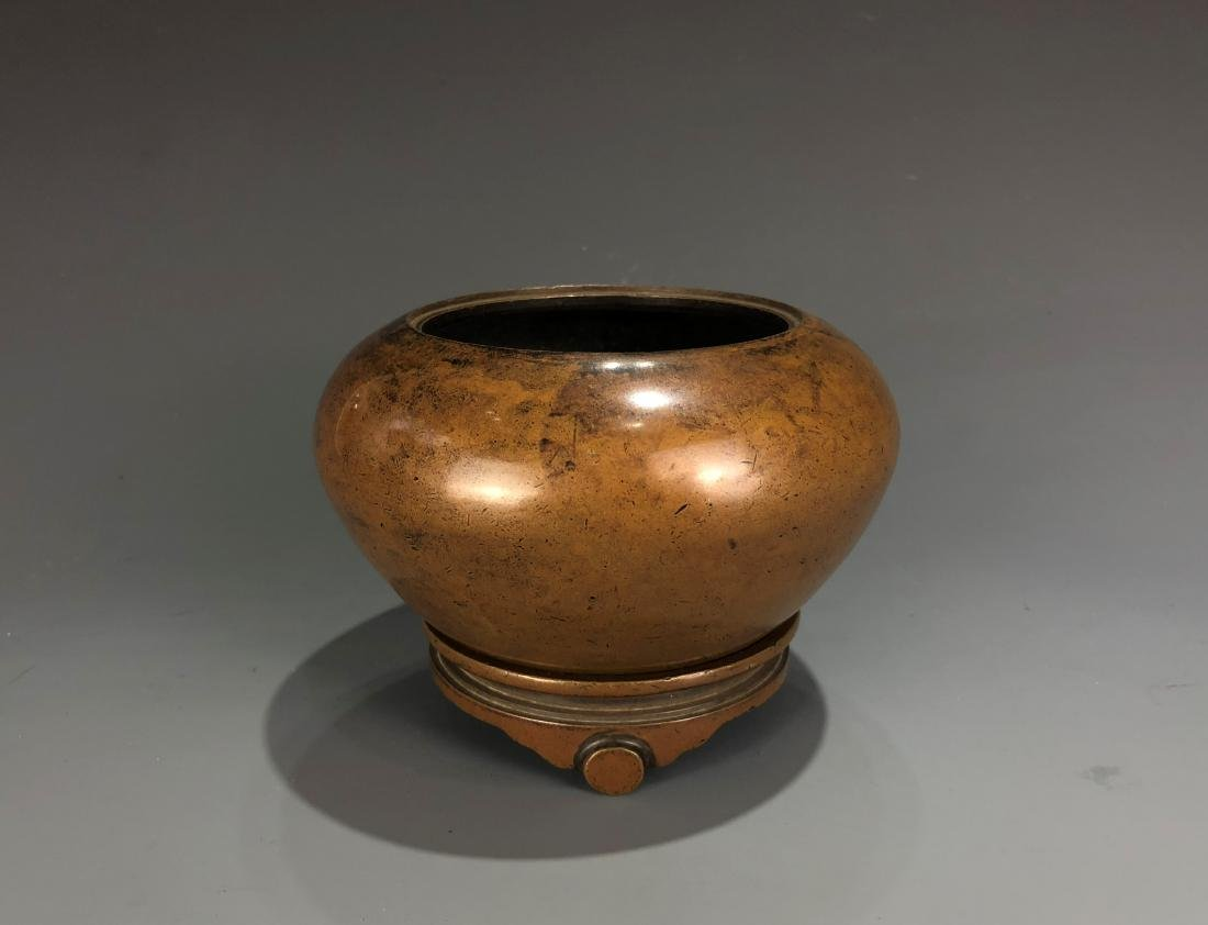 Bronze Censer with Mark - 9