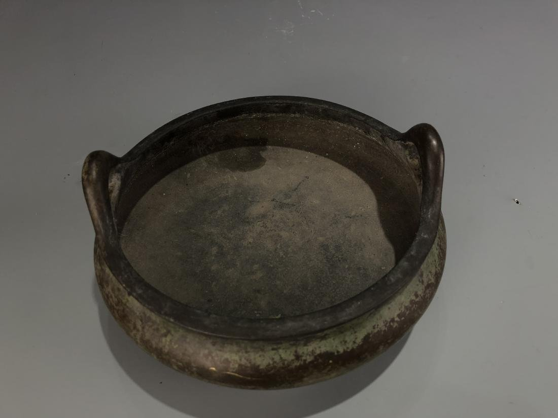 Bronze Tripod Censer with Mark - 3