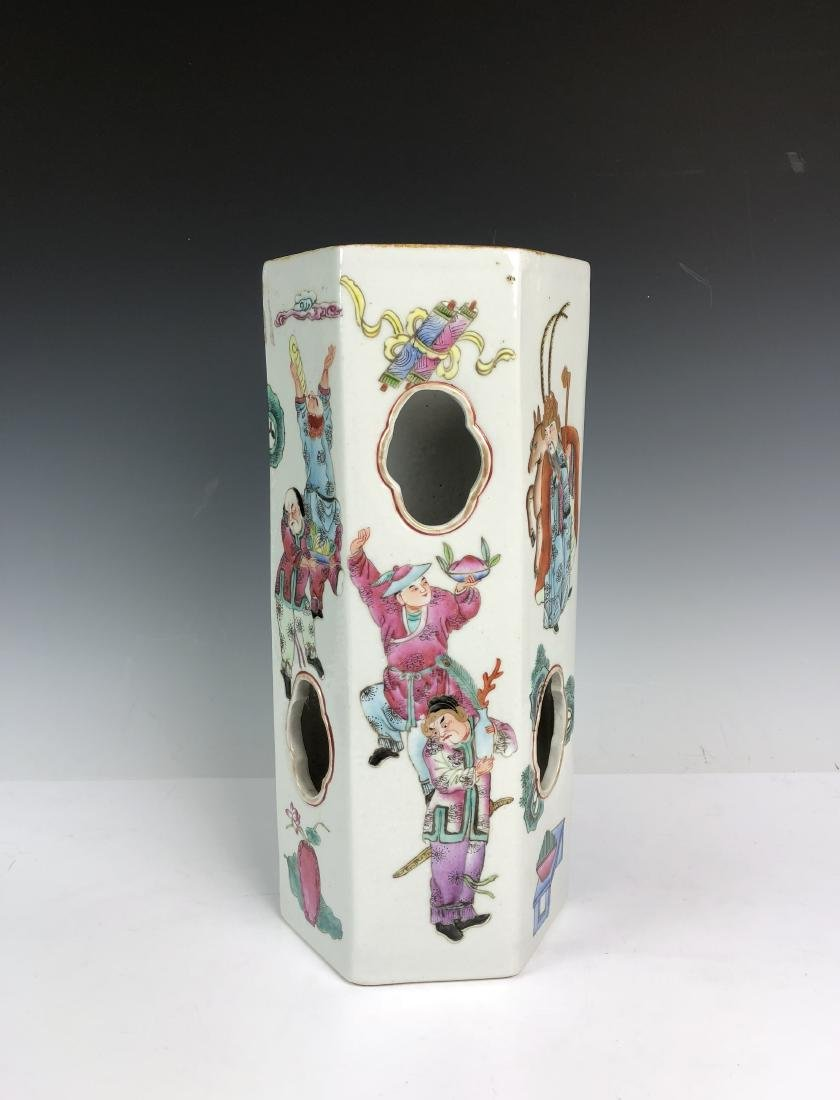 Porcelain Umbrella Stand with Mark