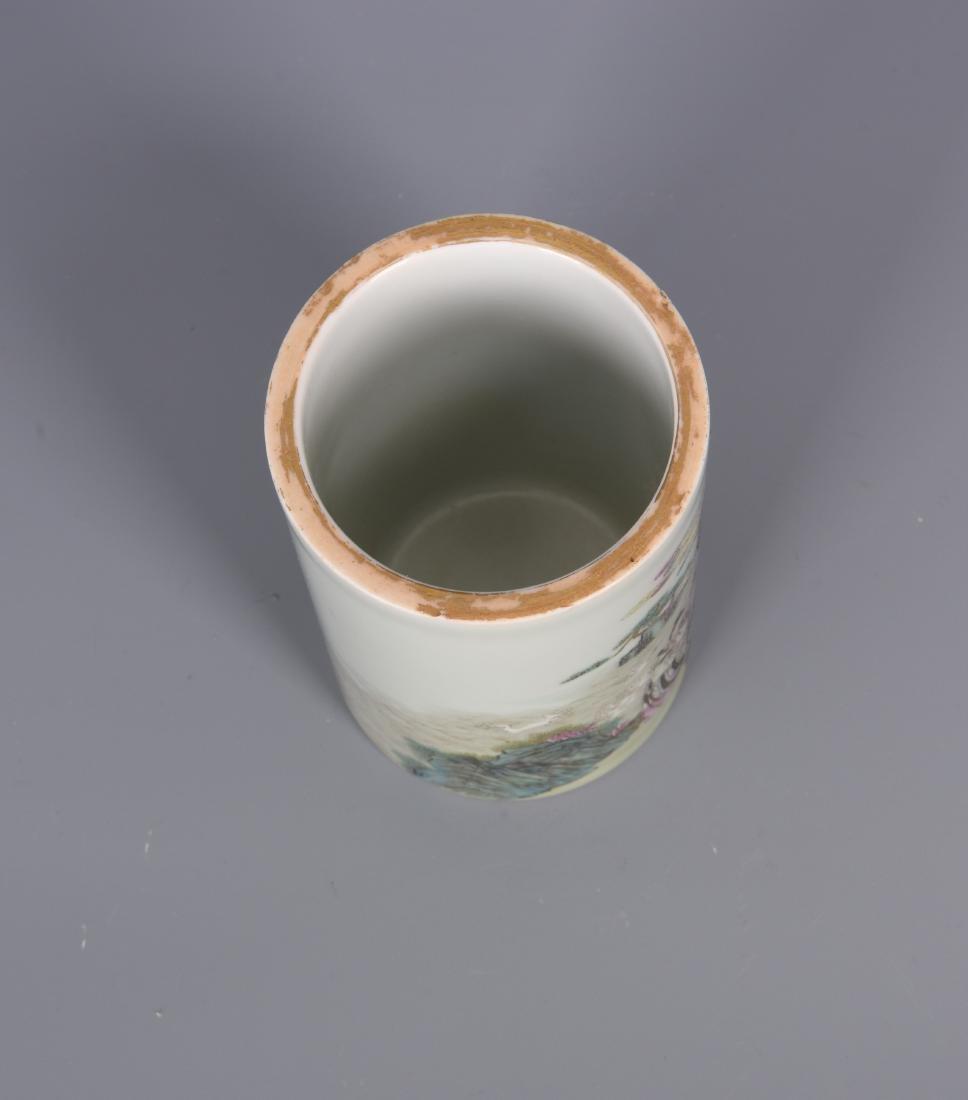 porcelain vase with mark - 4