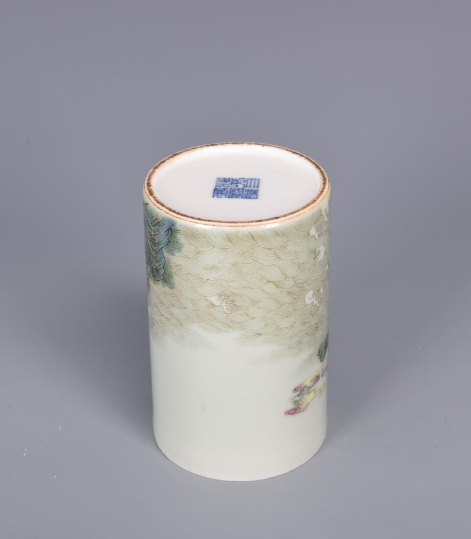 porcelain vase with mark - 5