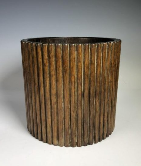 Large Huanghuali  Brush Pot