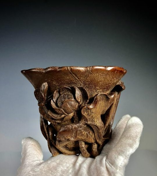 Bamboo Libation Cup