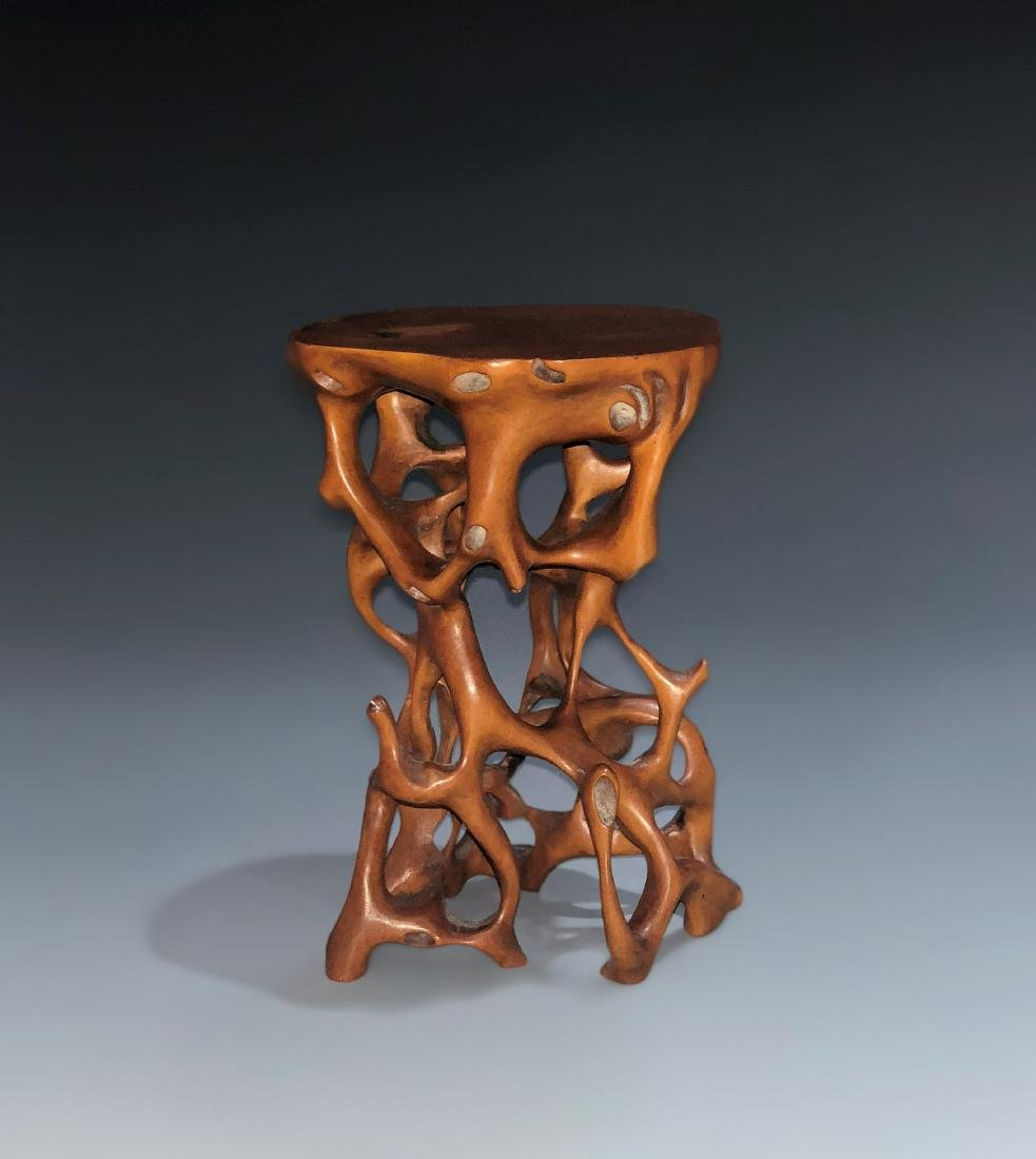 Box wood Root Table
