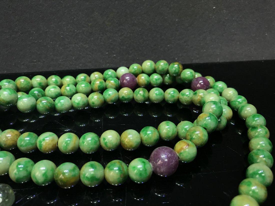 Imperial Court Necklace With Jadeite Tourmaline - 2