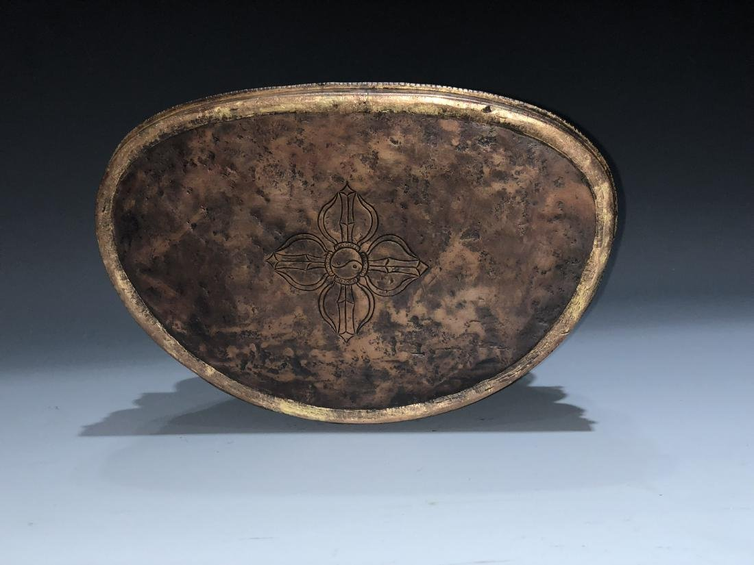 Gilt Bronze Figure of Shakyamuni - 10