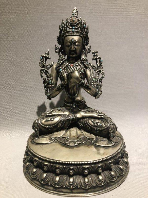 Bronze Figure of Vajradhara
