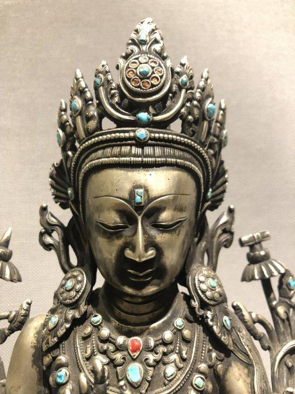Bronze Figure of Vajradhara - 6