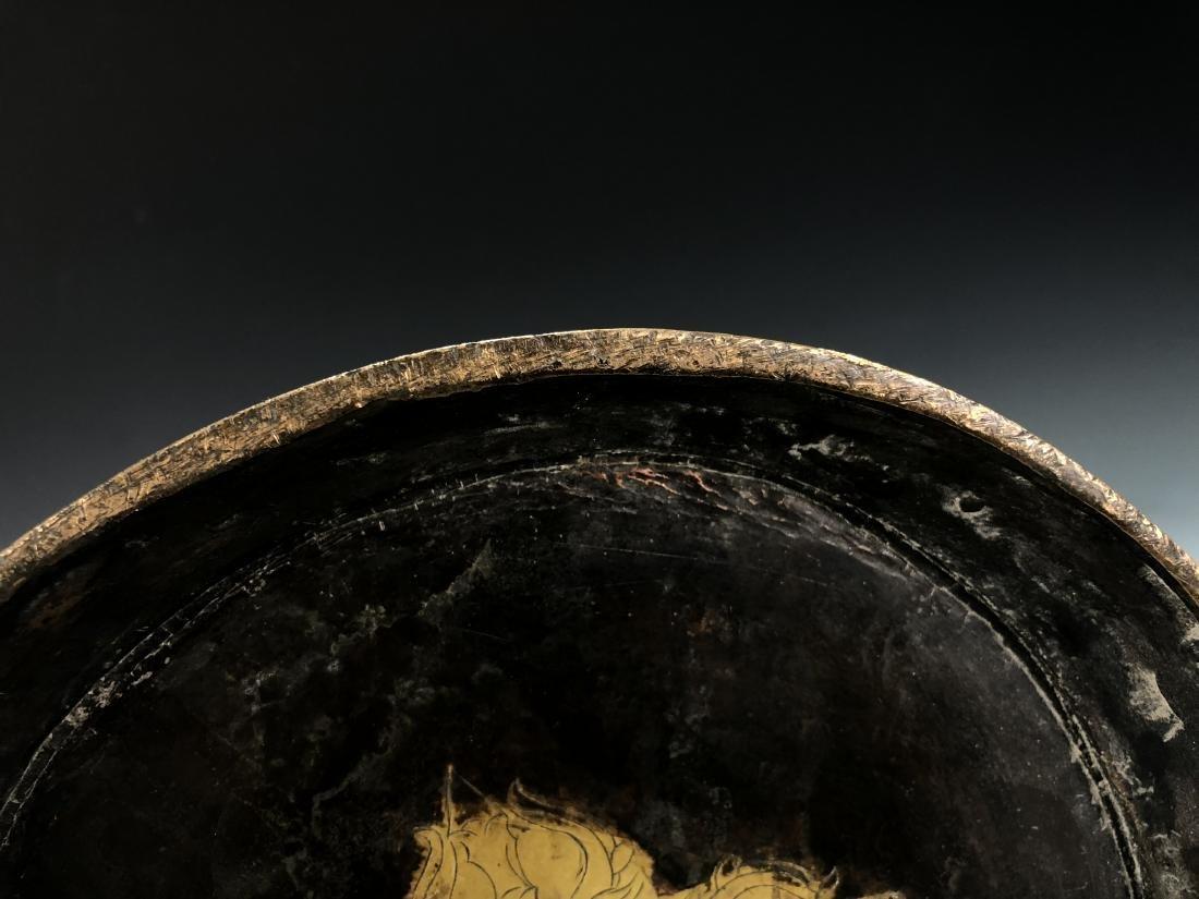 Gilt Bronze Figure of Manjusri - 5