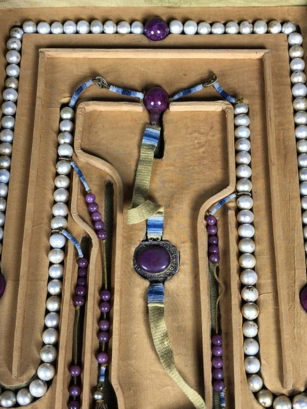 Imperial Court Necklace With Pearl Beads,Tourmaline.... - 7