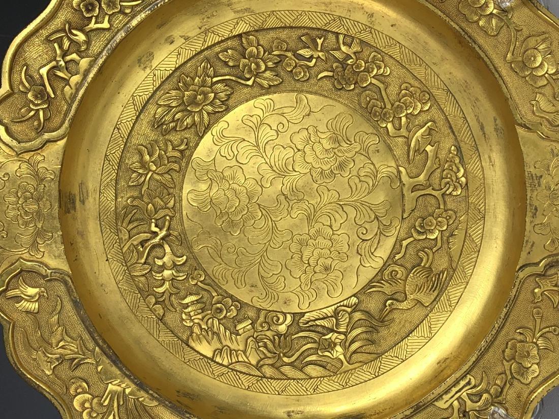 Gilt Bronze Plate - 2