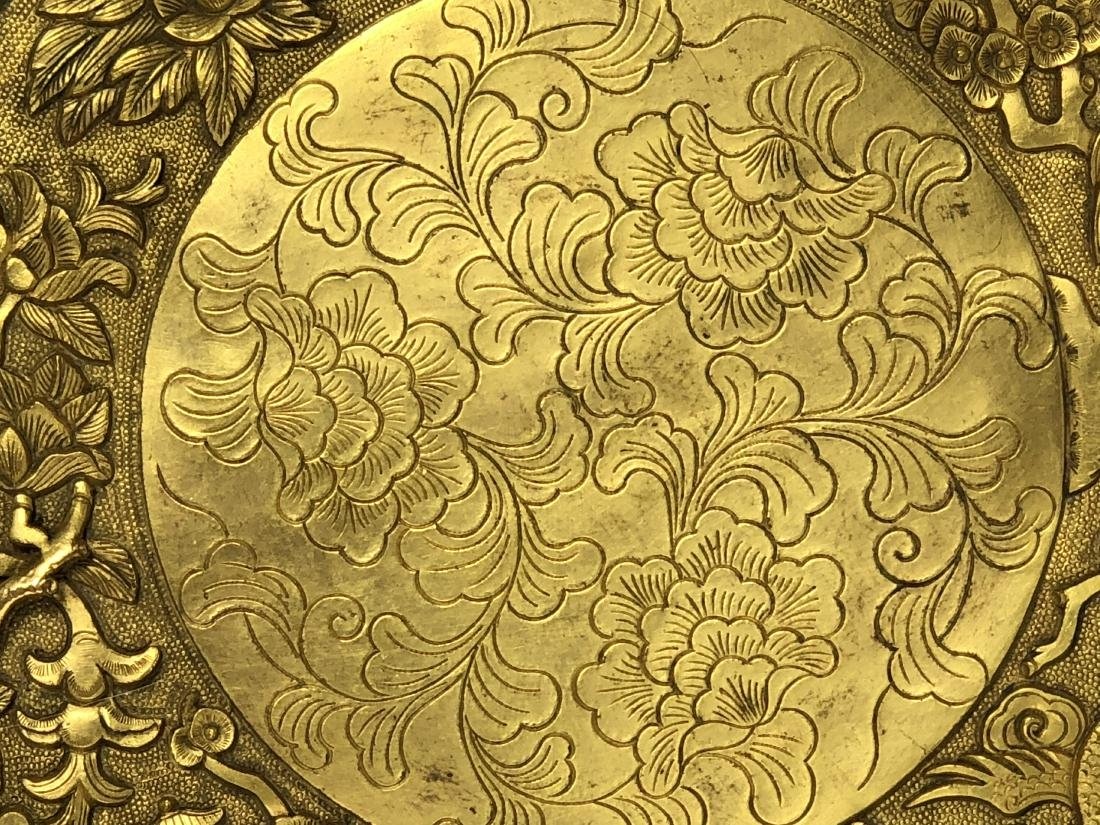 Gilt Bronze Plate - 4
