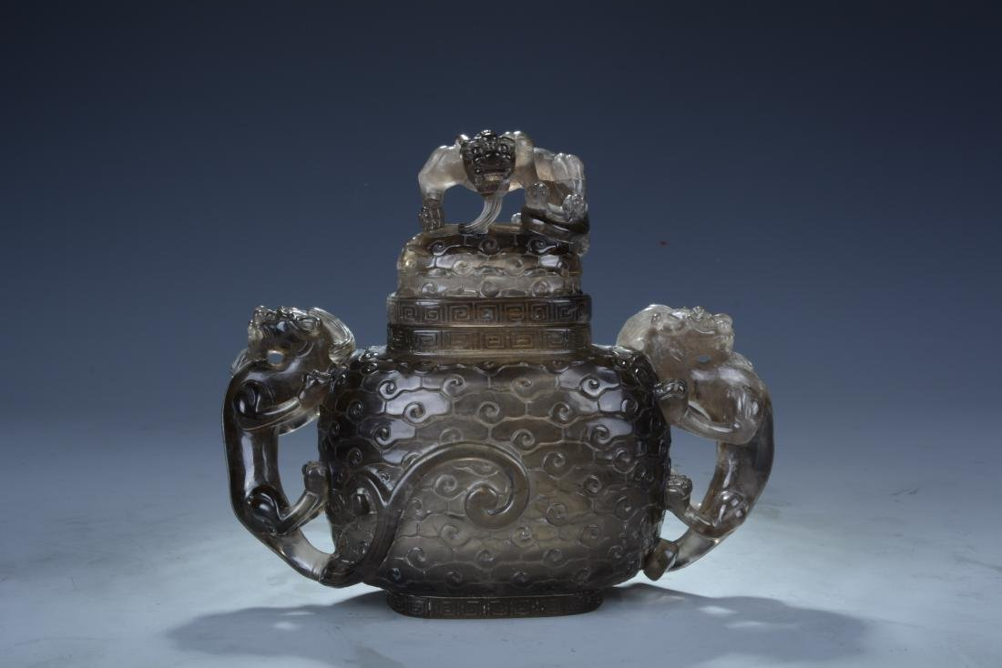 Rock Crystal Dragon Censer
