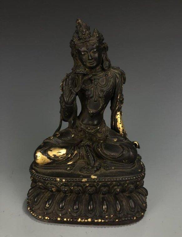 Bronze Figure of Sattva-Vajri