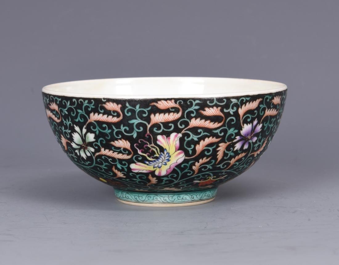 Famille Rose Porcelain  Bowl  with Mark - 3
