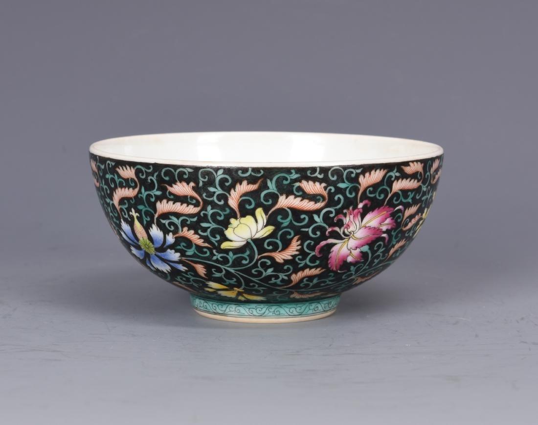 Famille Rose Porcelain  Bowl  with Mark - 5