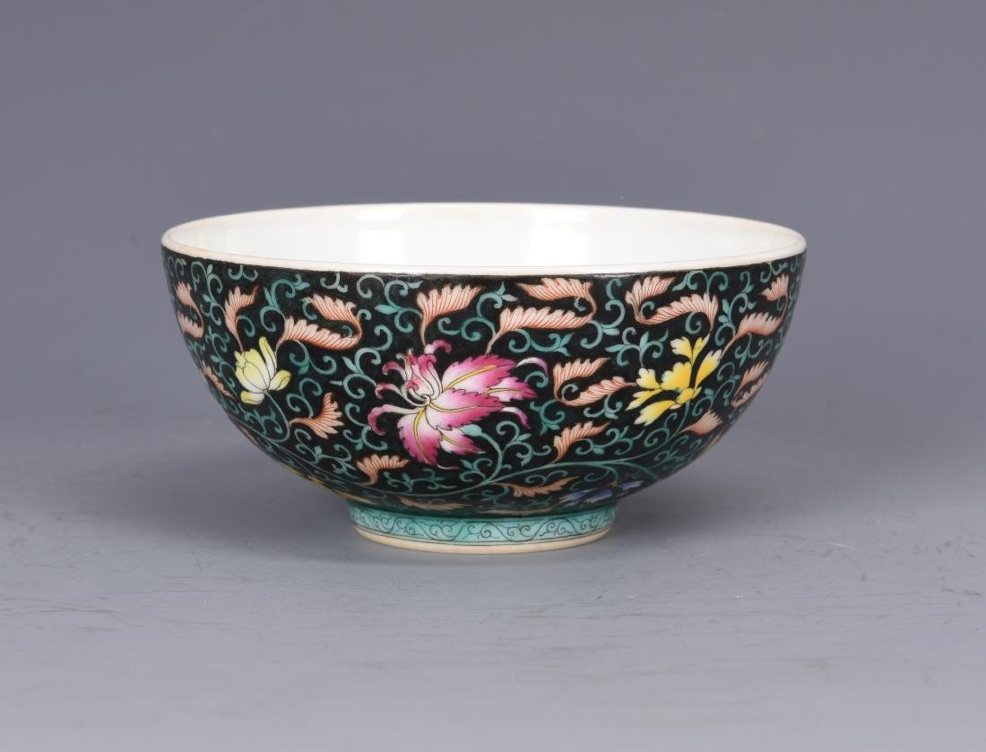 Famille Rose Porcelain  Bowl  with Mark - 6