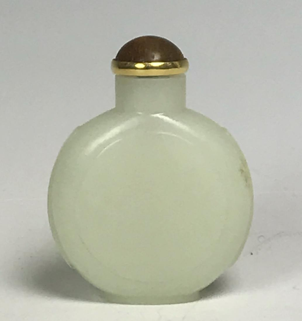 White Jade Snuff Bottle