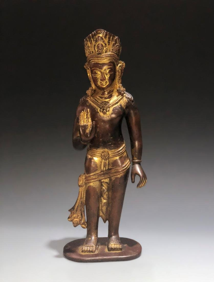 Gilt Figure of Acuoye GuanYin