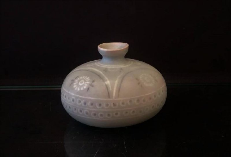 Korean Porcelain Globular Vase